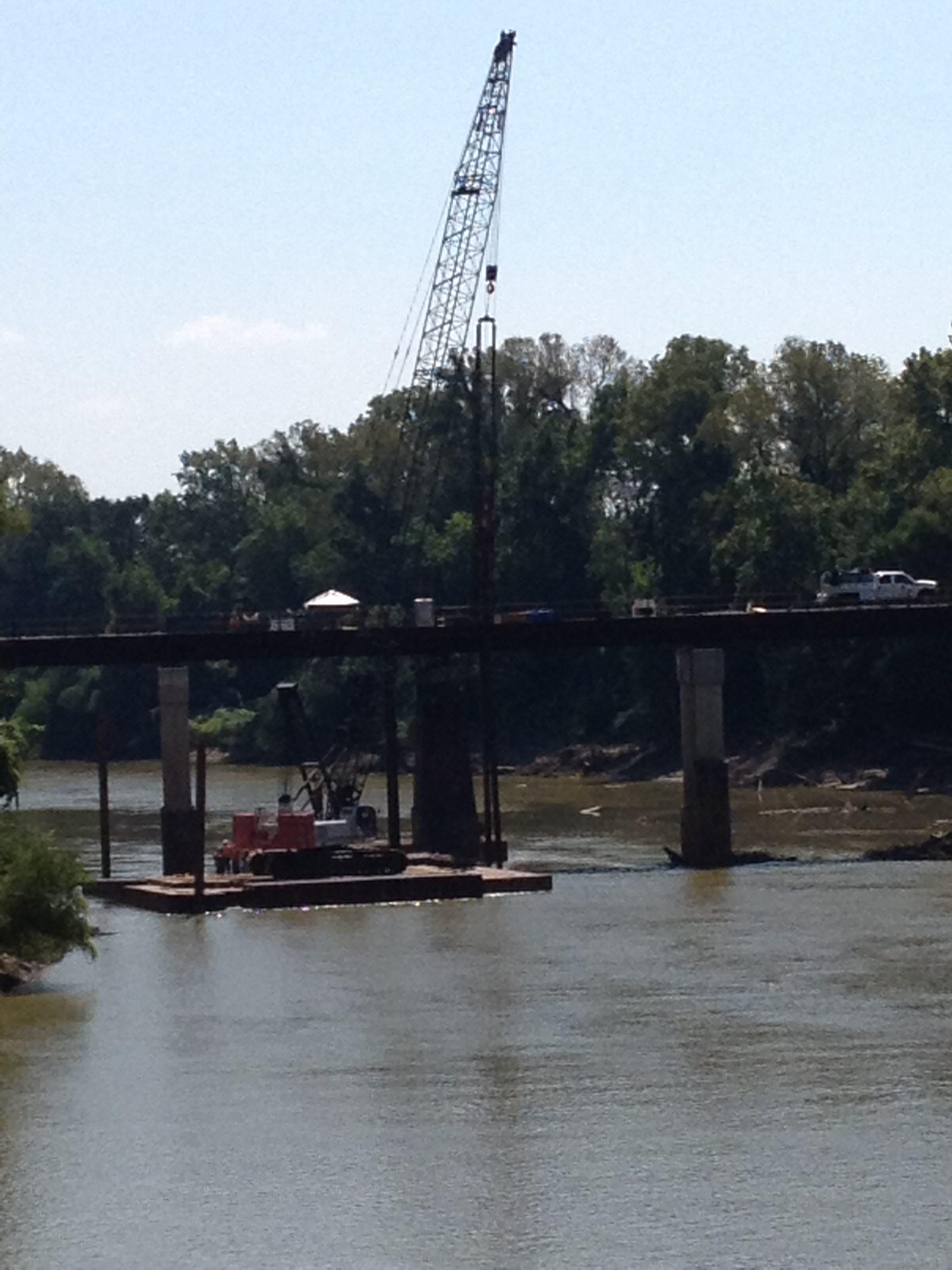 emergency bridge repairs at guinn construction