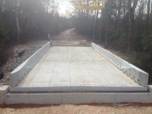 bridge construction jennings la