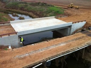 bridge construction in louisiana