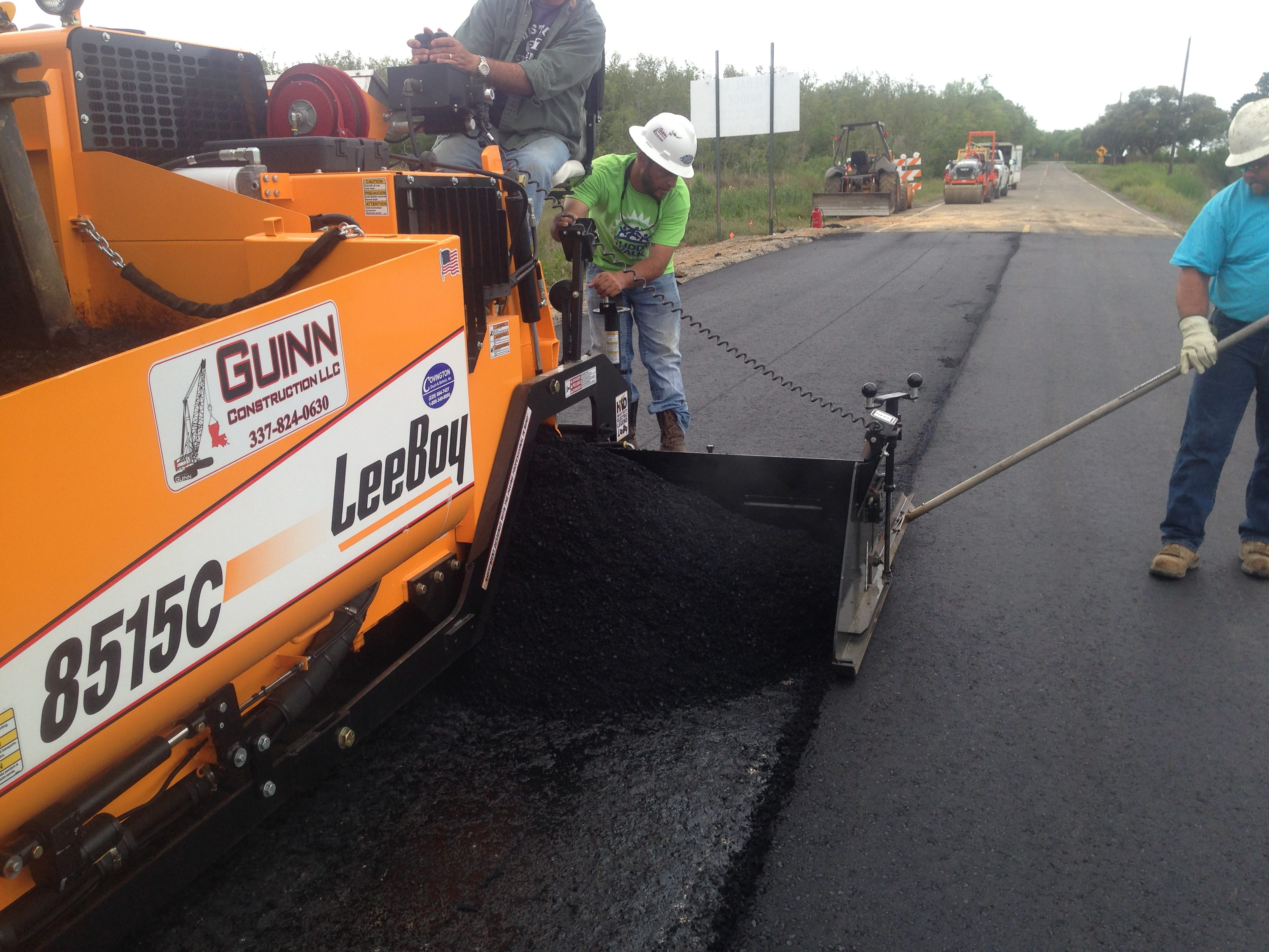 asphalt paving in louisiana